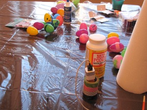 Bree's Easter crafting