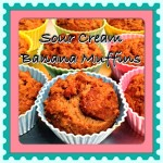 Sour Cream Banana Muffins