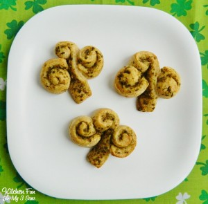 Shamrock Pillsbury Rolls @Kitchen Fun With My 3 Sons