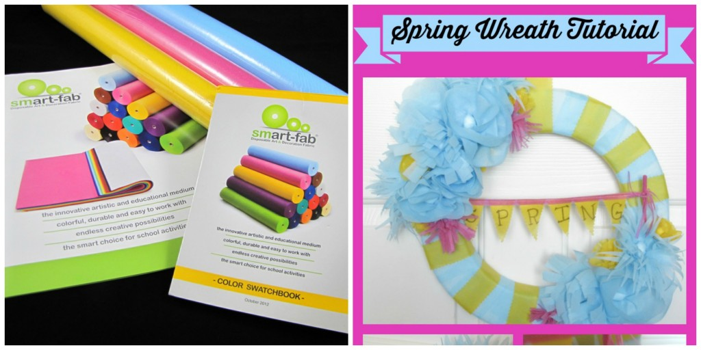 Smart-fab & Spring Wreath Tutorial