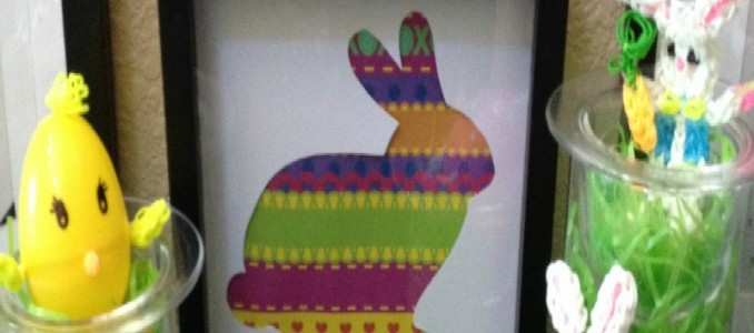No Craft Supplies Bunny Silhouette