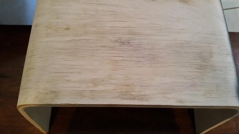 Ikea stool sanded
