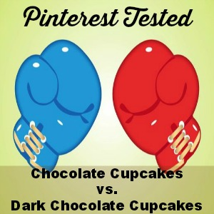 Pinterest Tested: Chocolate Cupcakes
