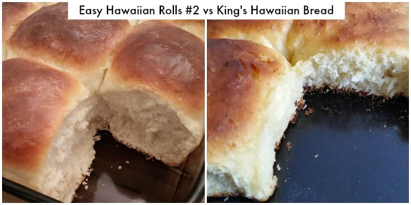Easy Hawaiian Rolls #2 vs King's Hawaiian Bread