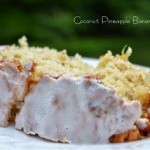 Tropical Pineapple Banana Coconut Bread