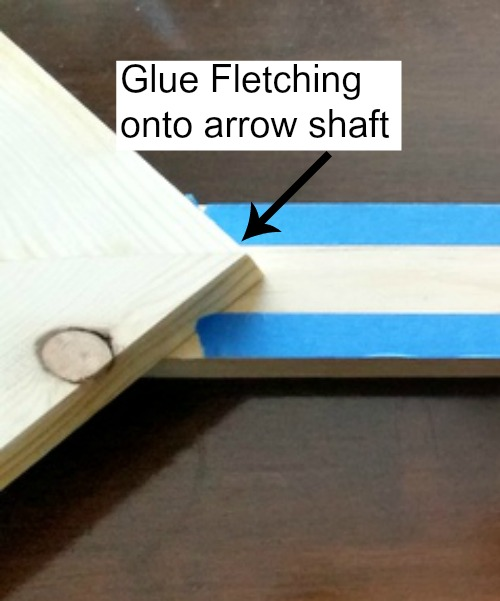 Arrow fletching