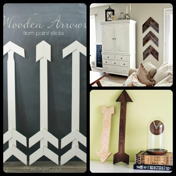 DIY Wooden Arrow Inspiration