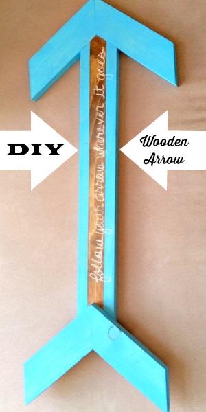 DIY Wooden Arrow sm