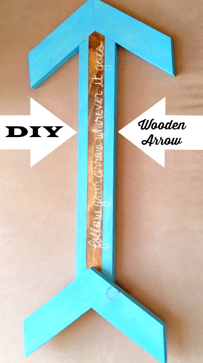 DIY Wooden Arrow