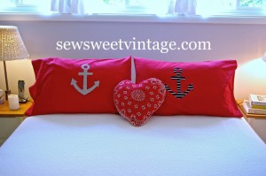 Anchor Pillowcases