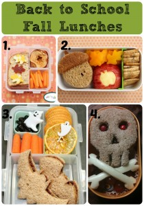 Back to School Fall Lunches