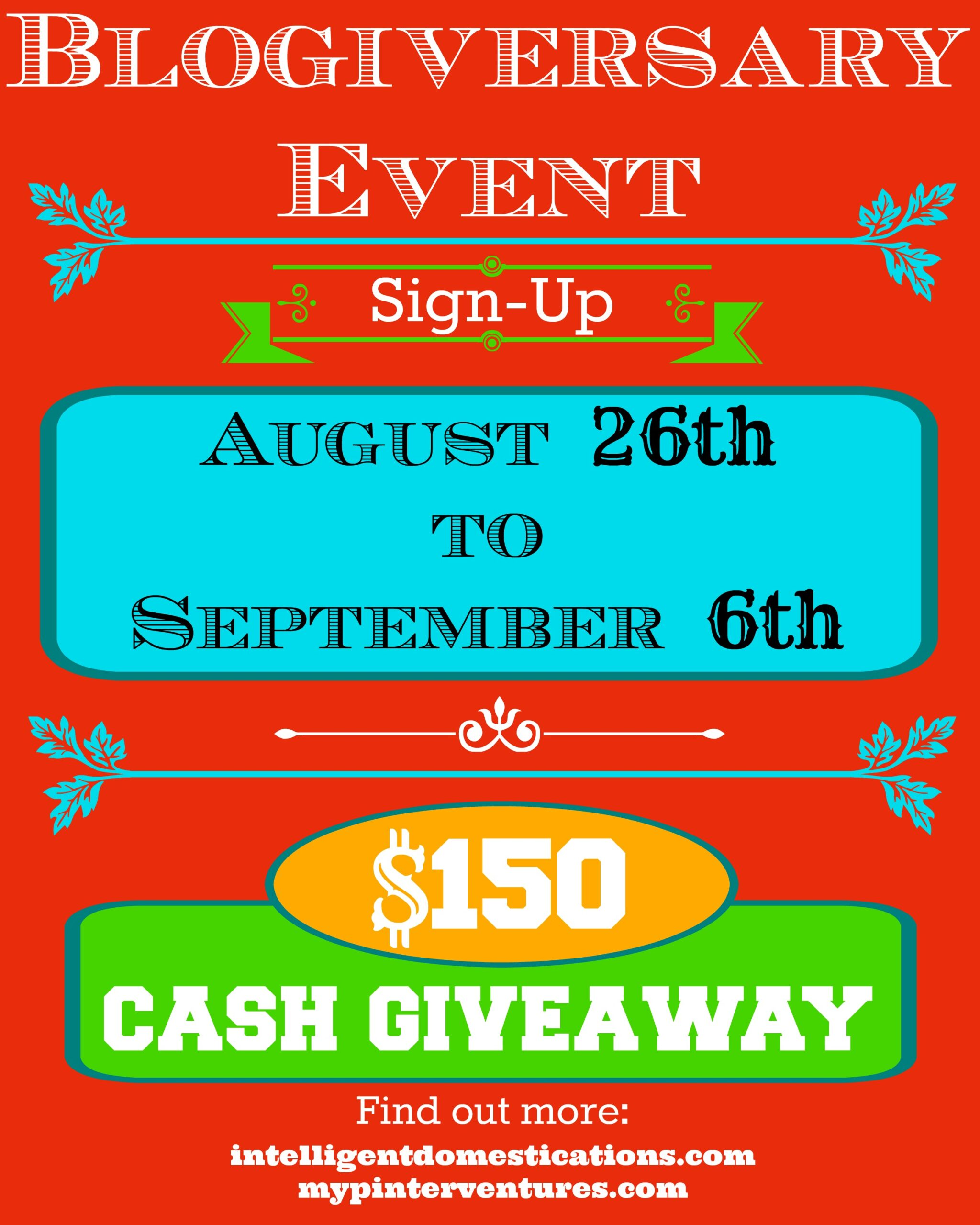 Giveaway Blogger Opportunity