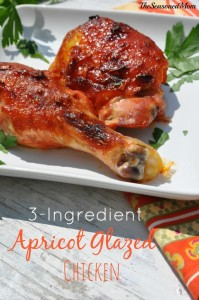 3 Ingredient Apricot Glaze Chicken