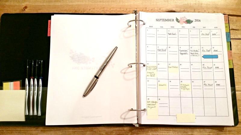 Blog Planner Completed