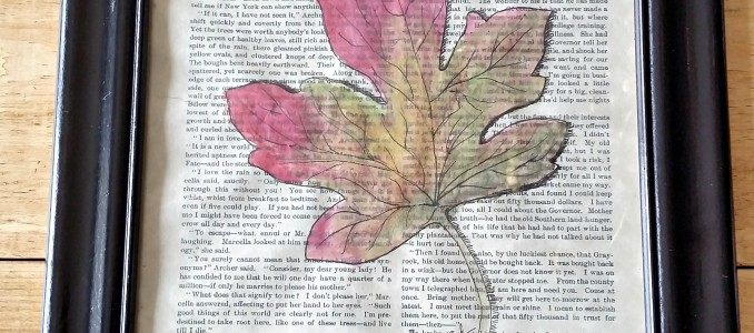 Completed Fall Leaf