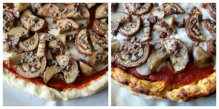 Eggplant Olive Tapenade Pizza