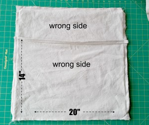 Sewing edges