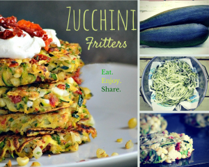 Garden Fresh Zucchini Fritters