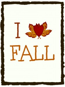 I Heart Fall Picture