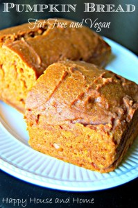 pumpkin bread 2014