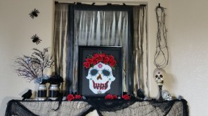 Day of the Dead Mantle Display