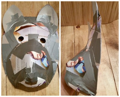 Anbu mask first stage