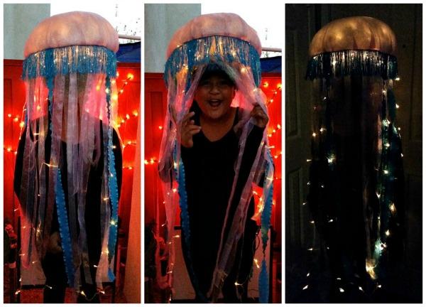 Lighted Jellyfish Costume