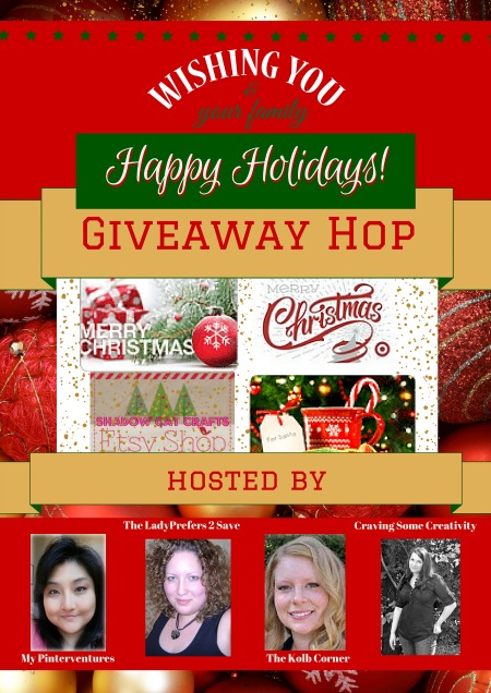 Happy Holidays! Giveaway Hop