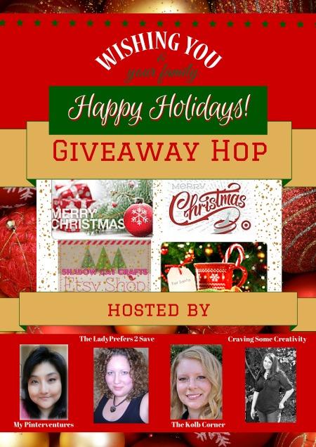 Happy Holidays! Giveaway Hop