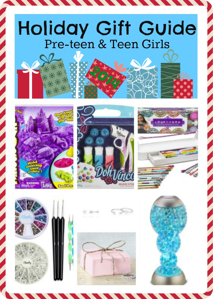 Holiday Gift Guide for Pre-teen & Teen Girls 2014