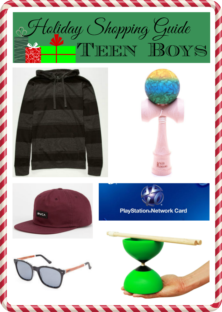 Holiday Gift Guide Teen Boys
