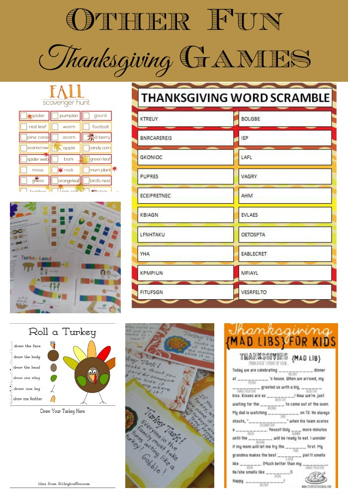 Lively image throughout printable thanksgiving games