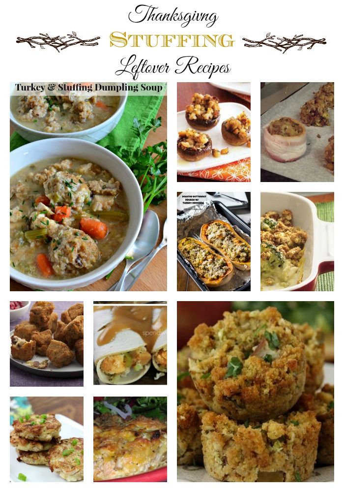 Thanksgiving Stuffing Leftover Recipes