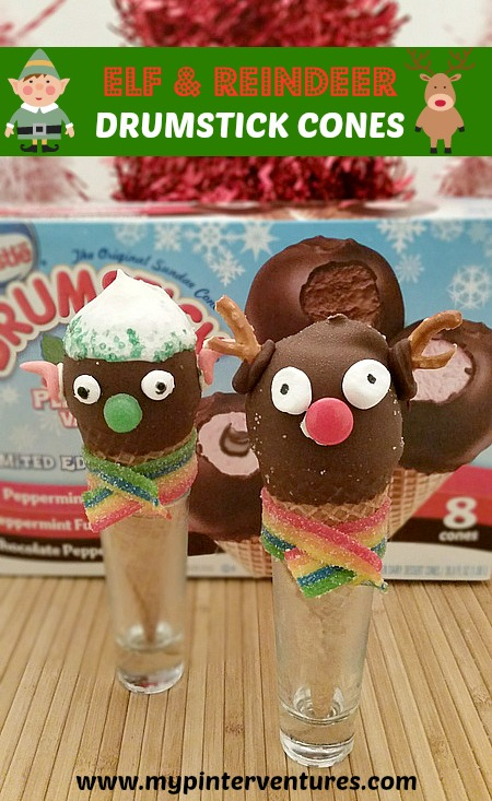 Elf-Reindeer-Drumstick-Cones-Fun-Holiday-Entertaining