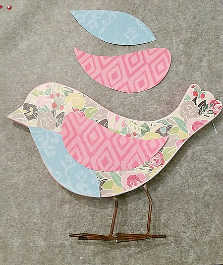 Decoupage-spring-wood-bird-wings-chest
