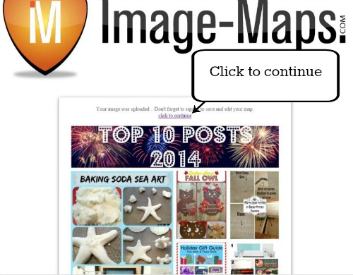 Image Map click to continue