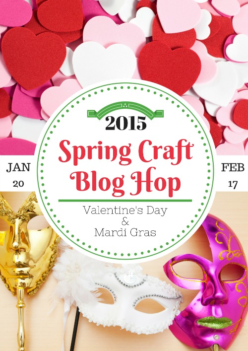 Spring Craft Blog Hop,spring crafts, crafts, craft blog hop, craft link party,
