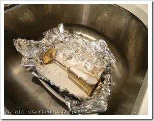 Baking soda foil