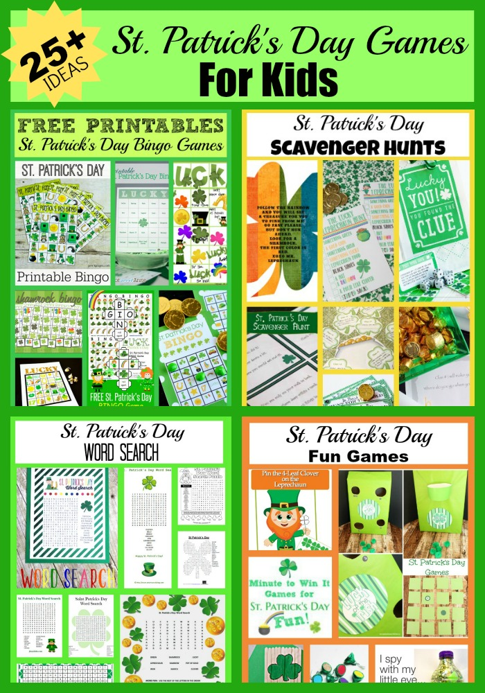 25-St.-Patrick's Day Games for Kids