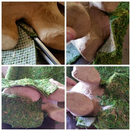 Cutting moss