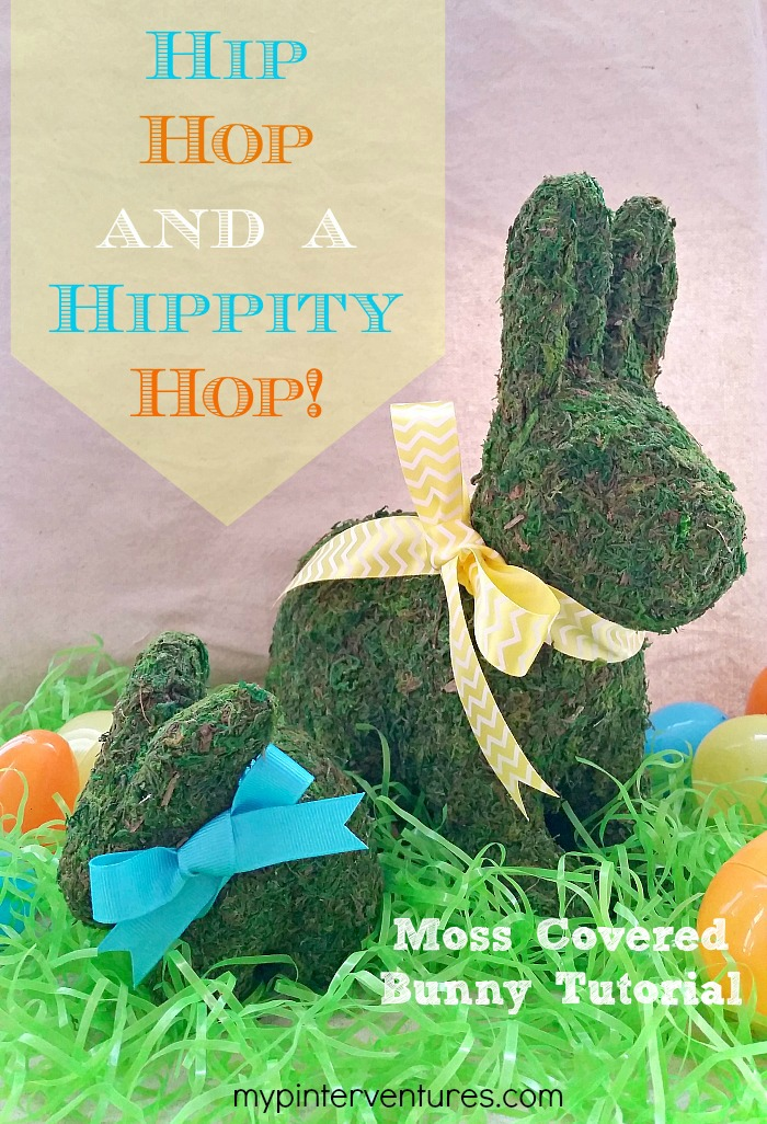 Moss Covered Easter Bunny Tutorial