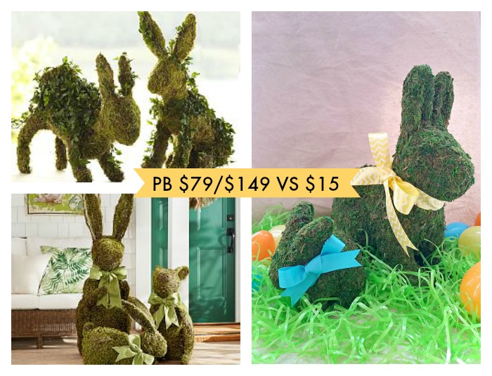 Moss covered bunny savings