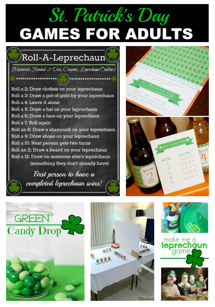 St. Patrick's Day Game for Adults