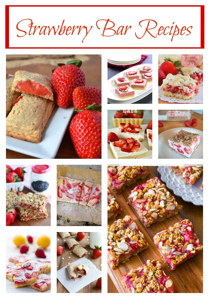 Strawberry Bar Recipes
