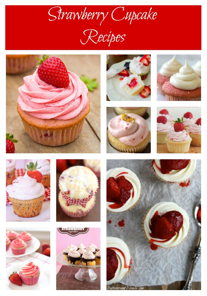Strawberry Cupcake Recipes