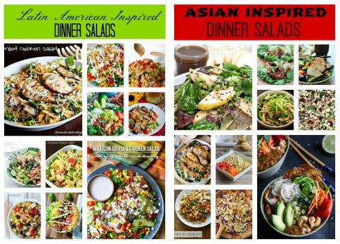 20 Awesome Chicken Dinner Salads