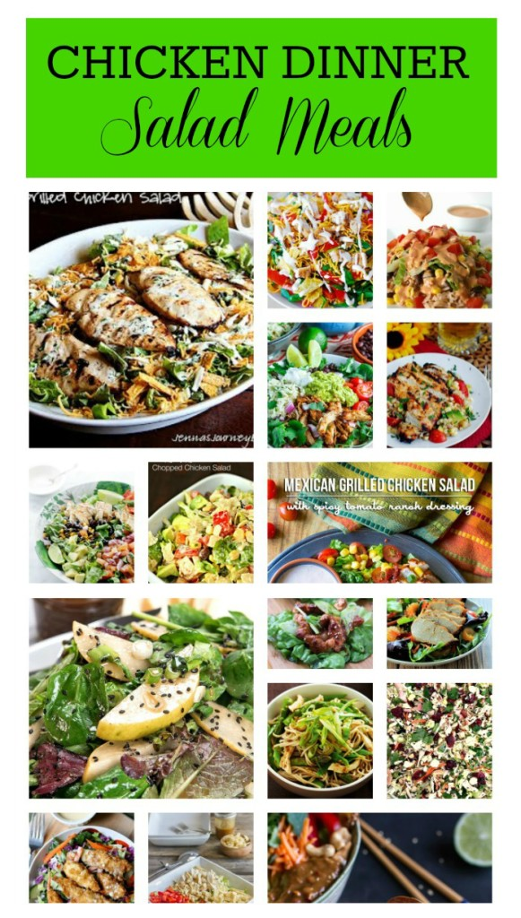 Chicken Dinner Salad Meals