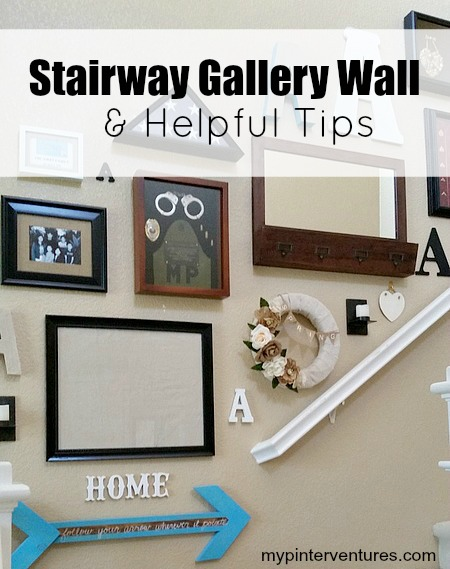 Stairway Gallery Wall & Tips