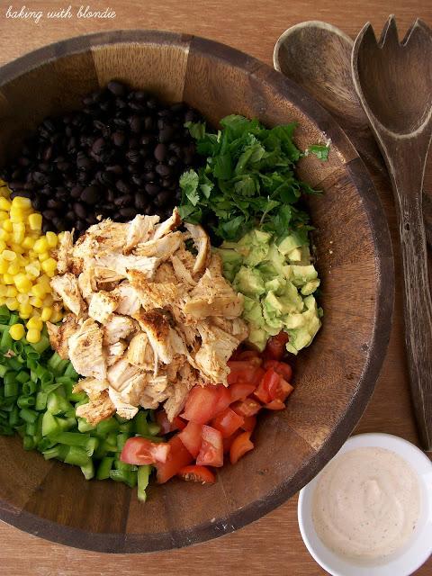 Southwestern Chopped Chicken Salad