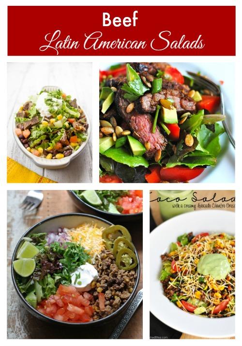 Beef Latin American Salads